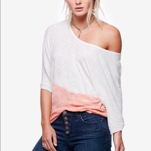 Free People Strawberry Gradient Top size S